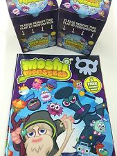 Topps Moshi Monsters Stickers Factory Box(50 pks)x2 +1 Official Album -Value