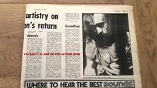 GENESIS Gin House,Godalming 1970 concert review UK ARTICLE / clipping