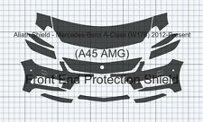 Mercedes A-Class A45 AMG W176 Front End CLEAR Stone chip Protection Decal Foil