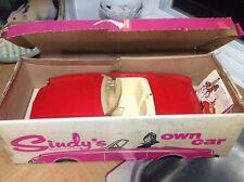 1965 Vintage Pedigree Sindy doll red car boxed