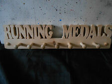 Handmade wooden Medal display hanger Swim Sport Dance Awards Cycling Athletics