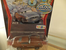 Disney Pixar Cars Colour/Color Changer Finn McMissile  British spy ! Ultra Rare