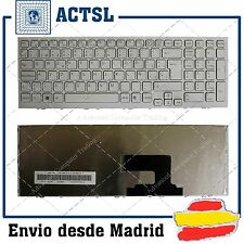 KEYBOARD SPANISH for SONY Vaio PCG-71811M Series BLANCO FRAME WHITE