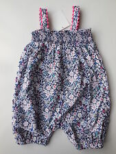 Baby Girl Dymples Lightweight Cotton Romper Playsuit Size 0 Fits 6-12m NEW