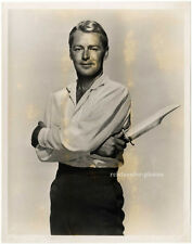 Alan Ladd, promo-photo, au charme du diable, de 1952.