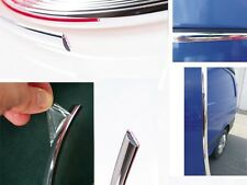 40mm x 5m Chrome Self Adhesive Car  Detail Edging Styling Moulding Trim Strip