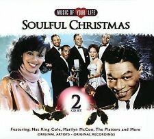 Soulful Christmas 2 CD *SEALED* Trammps Harold Melvin Jerry Butler Platters