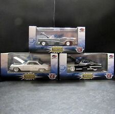 M2 Machines 1/64 Autho-Thentics Lot of 3 Oldsmobile Buick Skylark Chrysler 300F