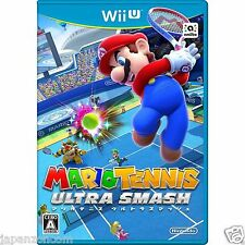 Mario Tennis Ultra Smash NINTENDO WII U JAPANESE NEW JAPANZON