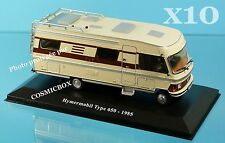 Prize of 10 camping-car HYMERMOBIL model 650 in 1985 Hymer camper van motorhome