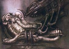 """Art Poster for Hr Giger Li II Art Silk Fabric 17x13"""" Decor 10"""