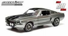 "GREENLIGHT 1:18 GONE IN 60 SECONDS 1967 FORD MUSTANG ""ELEANOR"" Diecast Car 12909"