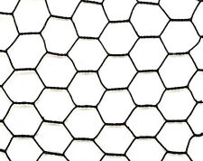 5' x 150' Steel Hex Web PVC Coated Metal Garden and Animal Fence