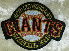 "San Francisco SF Giants Baseball Club 3.5"" Iron On Embroidered Patch ~FREE SHIP!"