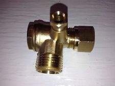 Coleman Powermate Sanborn  Air Compressor Brass Check Valve Fits VPP0200604