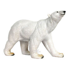 NEW AMY ADDY Collectible Wildlife Animal Resin LARGE Statue POLAR BEAR Figurine