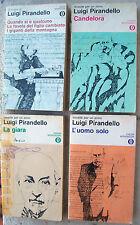 1969 LOTTO DI 4 VOLUMI CON OPERE DI LUIGI PIRANDELLO