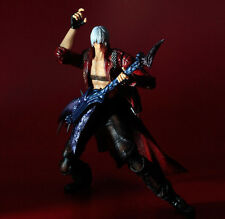 "New Play Arts Kai Devil May Cry 3 Dante PVC Figure Action Figure 10"" In Box"
