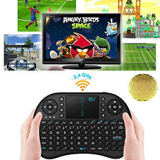 RII da I8 multifunzione 2.4 GHz RF Portable Mini Tastiera Wireless Touchpad Mouse