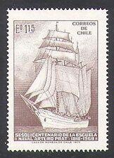 Chile 1972 barcos/Navegación/barcos/Naval/Azul Marino/Náutica/transporte 1v (n37822)