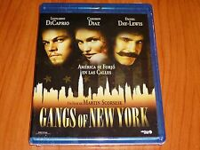 GANGS OF NEW YORK - English / Español - AREA B - Precintada