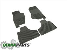 2002-2007 Jeep Liberty Slush Mats Khaki Set Of 4 MOPAR OEM GENUINE NEW