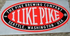 PIKE BREWING COMPANY I Like Pike Seattle STICKER label decal craft beer brewery