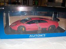 """Auto Art Lamborghini Murcielago LP 670-4 SV """"Rosso Targa/Red"""" 74626"""
