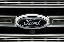 Ford Oval Logo Decal Set for F150 F-150 3pk Sticker Overlay 2015,2016,2017 GRY K