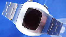 Vintage Style Chunky 1970s Looks Retro Digital LED LCD Watch 12&24 hour