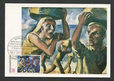 Berlin Mk 1982 peintures Max pechstein maximum carte carte MAXIMUM CARD MC cm d8200