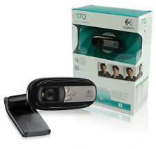 BRAND NEW IN RETAIL PACKAGING Logitech Webcam C170 5MP Video USB2 PC/MAC