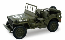 WELLY 1:18 18036 1/4 TON US WILLYS ARMY JEEP TOP DOWN 1/18 DIECAST CAR MODEL