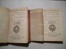 1769-2 VOL- BUFFON- HISTOIRE NATURELLE -DE L'HOMME & DES ANIMAUX-LIVRES ANCIENS