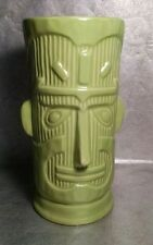 Large Home Lime Green Tiki God Mug, Super Size!