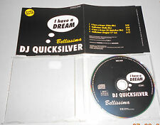 Maxi Single CD  DJ Quicksilver - I Have A Dream  1996  4 Tracks MCD SO 1