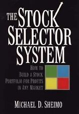 The Stock Selector System: How to Build a Stock Portfolio for Profits -ExLibrary