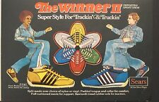 1977 Sears Winner II Tennis Shoes Mens, Boys Fashion Ad
