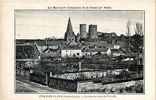 CPA  Cinq-Mars-la-Pile (Indre-et-Loire) -Clochers et tours du Cháteau  (299276)