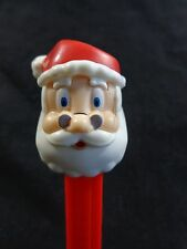 PEZ Candy Dispenser SANTA CLAUS FACE Red Base with Feet 2012