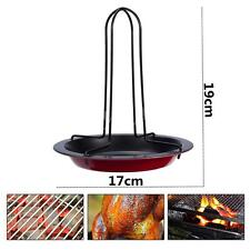 Non-strick Vertical Chicken Roasting Poultry BBQ Party Roaster Tray Rack Bowl