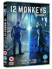 12 Monkeys . The Complete Season 2 . Staffel . 3 DVD . NEU . OVP