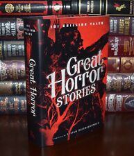 101 Great Horror Stories New Hardcover Edition Lovecraft Doyle Poe Stocker