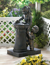 PLAYTIME PARK WATER FOUNTAIN GARDEN YARD DECOR NEW~10016929