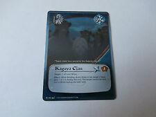 Carte Naruto Kaguya Clan rare foil !!!