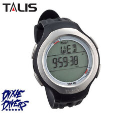 TUSA TALIS SCUBA DIVE COMPUTER WATCH BLACK BLUE AND PINK FREEDIVE AIR NITROX NEW