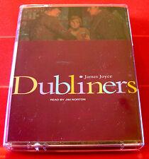 James Joyce Dubliners 2-Tape Audio Book Jim Norton Araby/Eveline/Clay/The Dead+2
