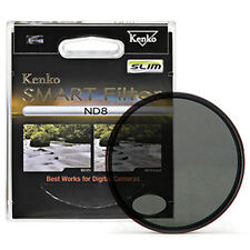 Kenko Smart Slim Designed New Frame Neutral Density ND8 Camera Lens Filter 37mm
