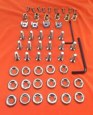 55 Piece Audi TT Mk.1 Stainless Steel Countersunk Engine Bay Cover Fastener Kit