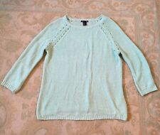 H&M Mint Green Jumper - Size Medium 10 12